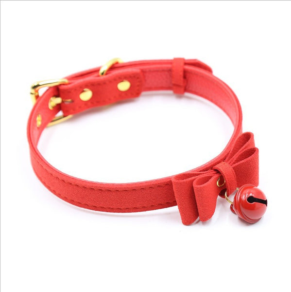 Bow Bell Leash& Collar