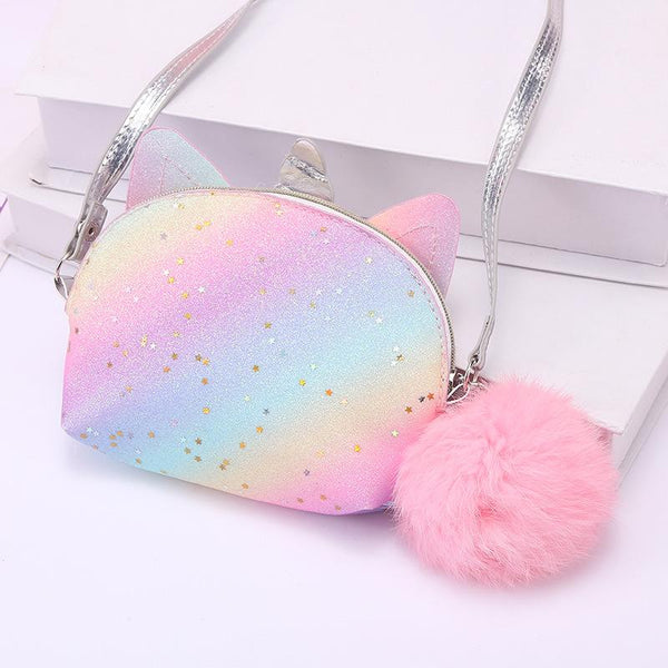 Unicorn Rainbow Shoulder Crossbody Bag