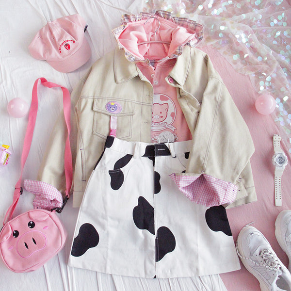 Little Pink Pig Hoodies
