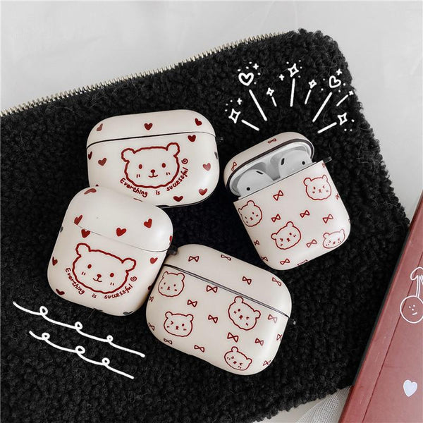 Kawaii Bear Airpods Pro Case