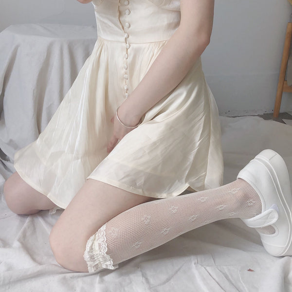 Middle Kawaii Lace Stockings