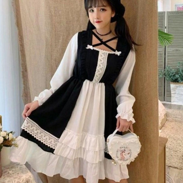 Kawaii Lolita Black Dresses