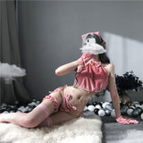 Lovely Kitten Maid Lingerie Set