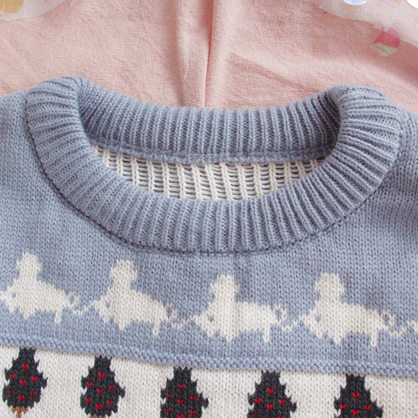 Forest Farm Sweater