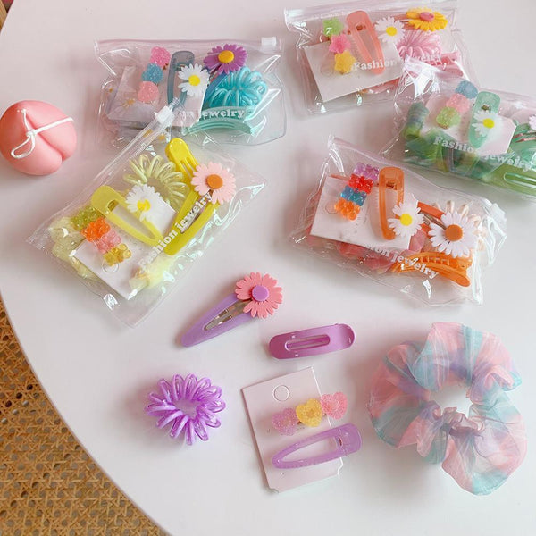 Sweet Hairpin Set-6pcs