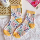 Kawaii Pets Cartoon Socks
