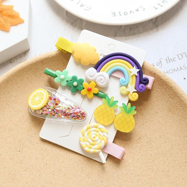 Fruit Paradise Hair Clips