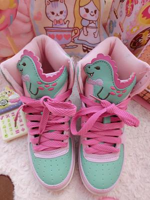 Dinosaur Baby High Top Shoes