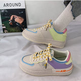 Candy Color Printed Shoes
