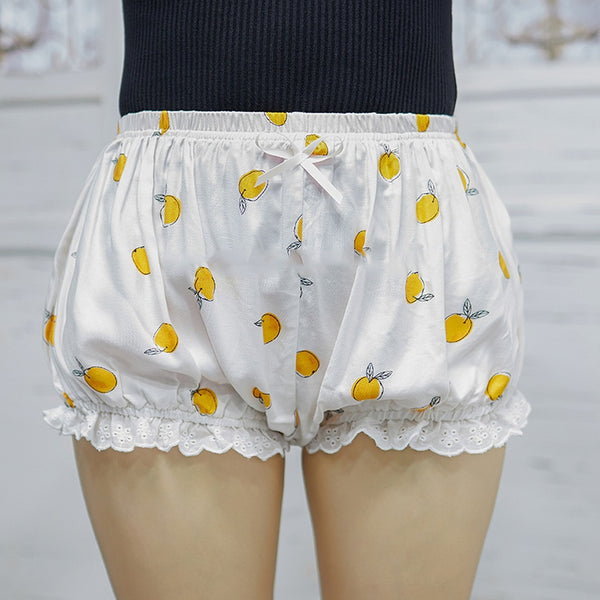 Polka Dot Ruffle Shorts Diapers