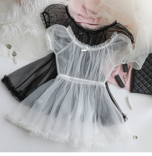 Lace Lovely Cute Princess Nightdress