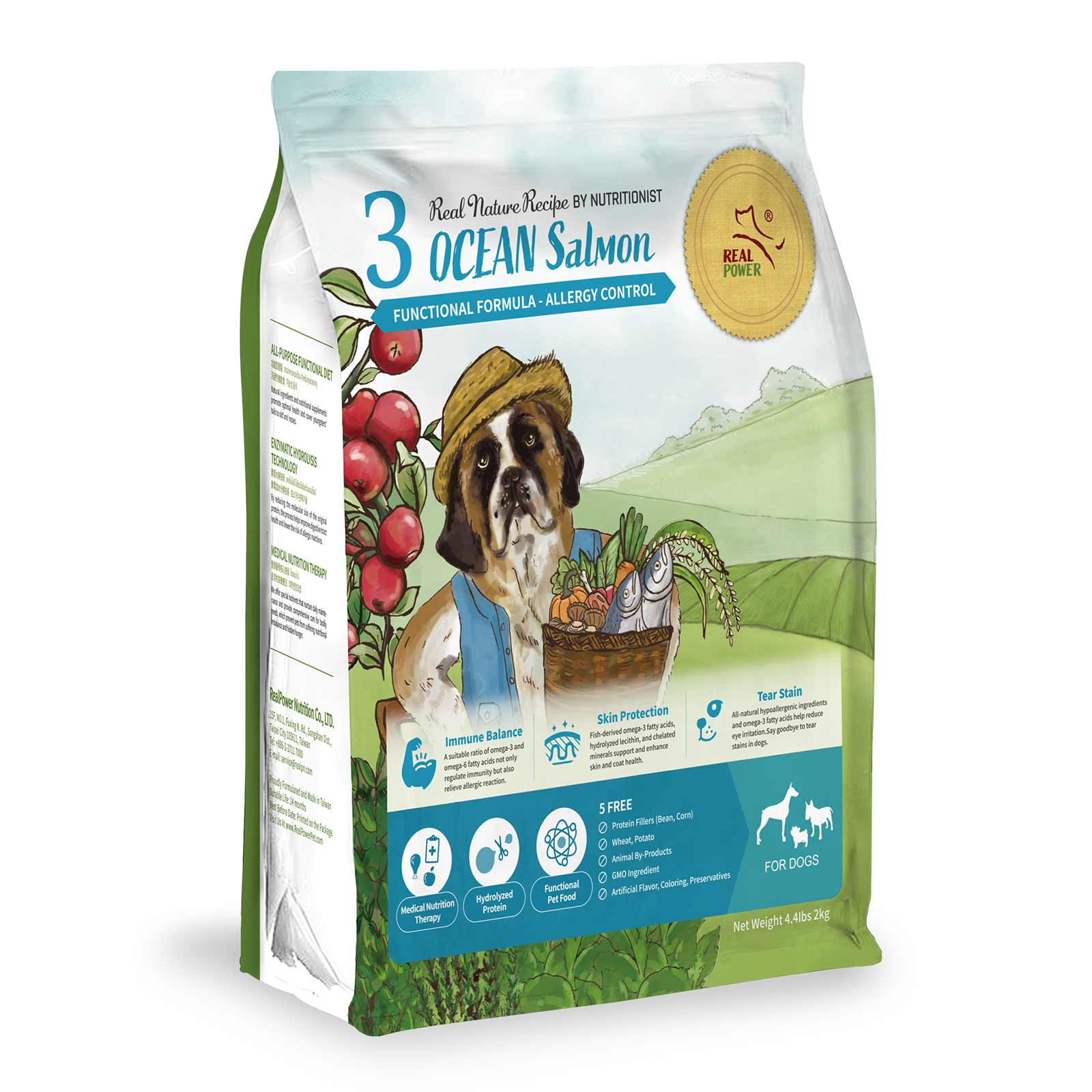 Dog Food No. 3 OCEAN Salmon
