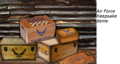 Air Force Military keepsake items | The Whisperwood Collection