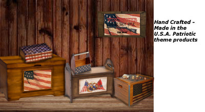 Hand Crafted Patriotic products | The Whisperwood Collection