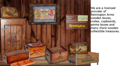 Remington Collectible Wooden Treasures