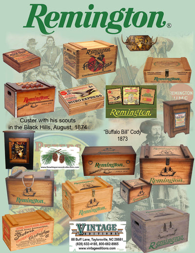 Remington assorted boxes