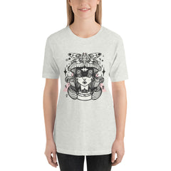 Death Head Moth & Quadruple Eyed Girl T-Shirt