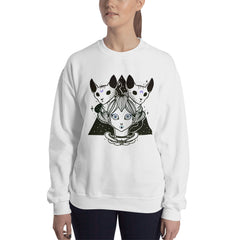 Sphynx Cat Artwork Sweatshirt