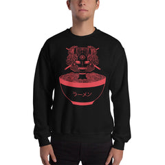Monster Girl Ramen Sweatshirt, Black
