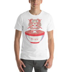 Monster Girl Ramen Noodles, Unisex T-Shirt, White
