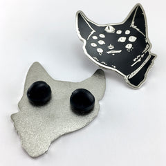 Spider Cat, Enamel Pin