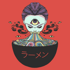 Magic Rainbow Ramen Art Print Poster
