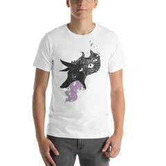 Wolf Eyes And Stardust, Unisex T-Shirt, White