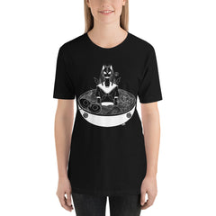 School Girl Ramen Unisex T-Shirt, Black