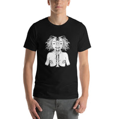 Skeleton Girl, Unisex T-Shirt, Black