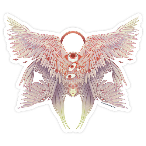 Seraph Angel, Vinyl Sticker