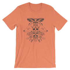 autumn tshirt with artwork by jennifer o'toole