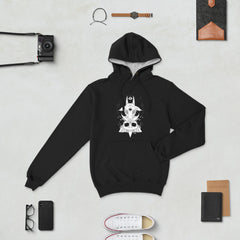 Goat And Skull, Champion Hoodie, Black