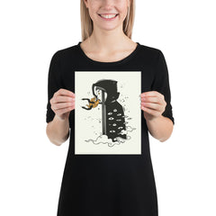 Witch, Matte Art Print Poster