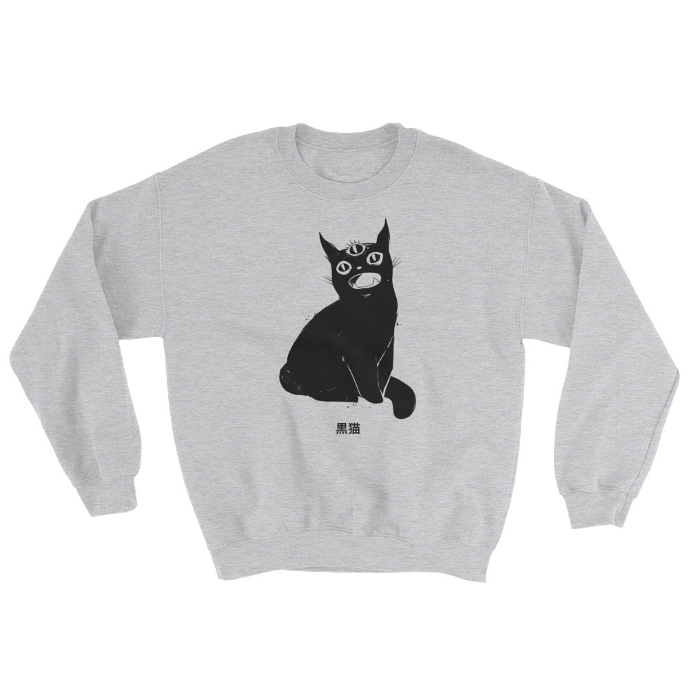 sweater with art by jennifer o'toole
