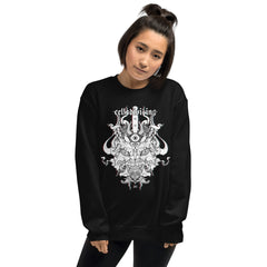 Oni Demon, Unisex Sweatshirt, Black