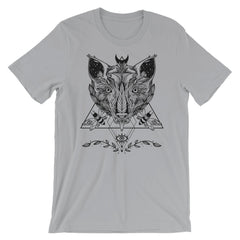 Wolf And Moths Unisex T-Shirt