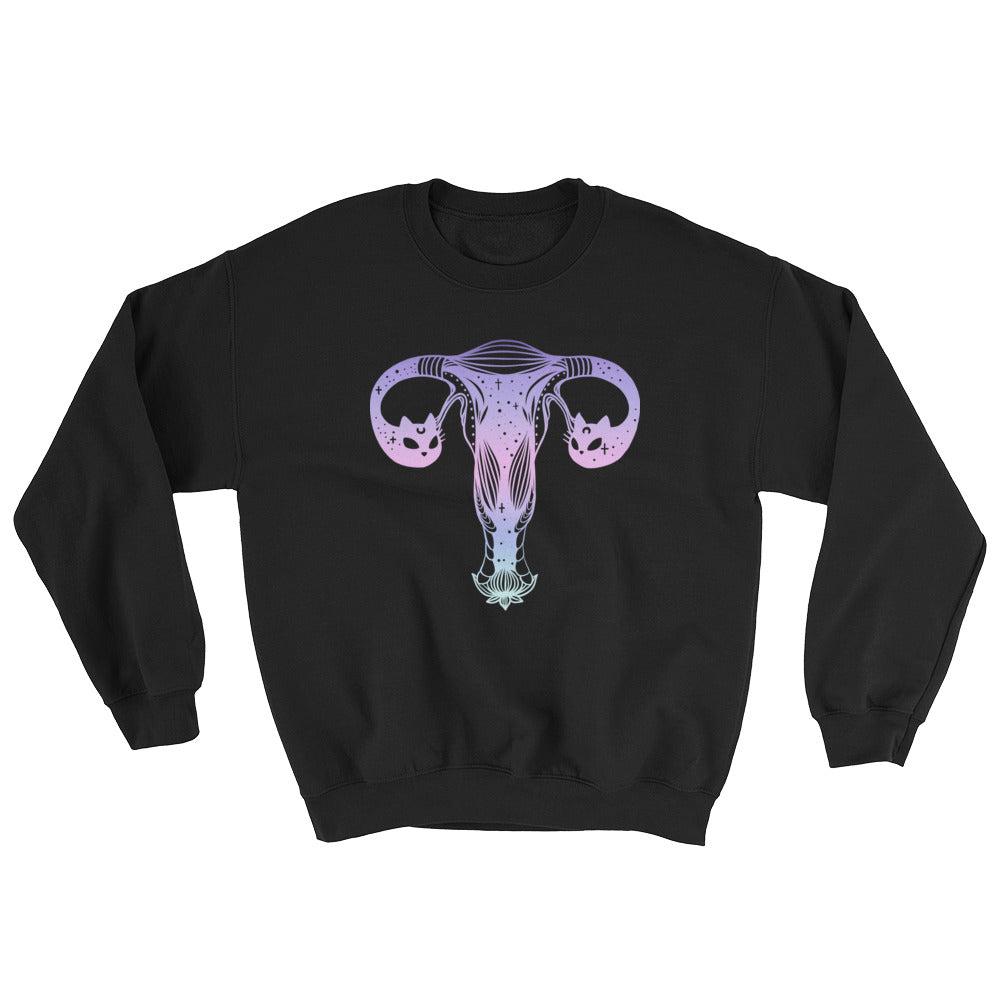 Cat Head Ovaries Sweatshirt