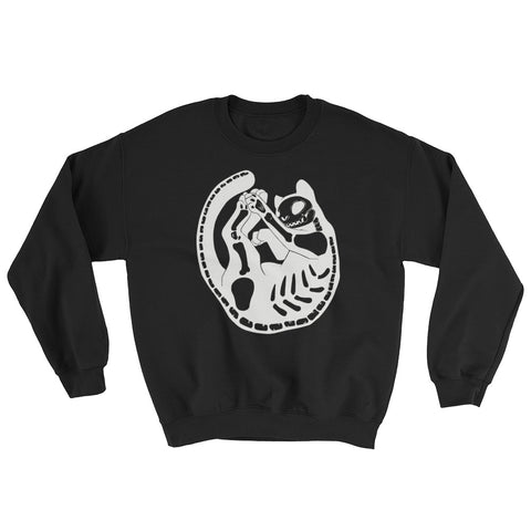 Skeleton Cat Sweatshirt