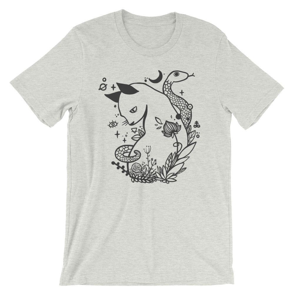 Cat And Snake T-Shirt