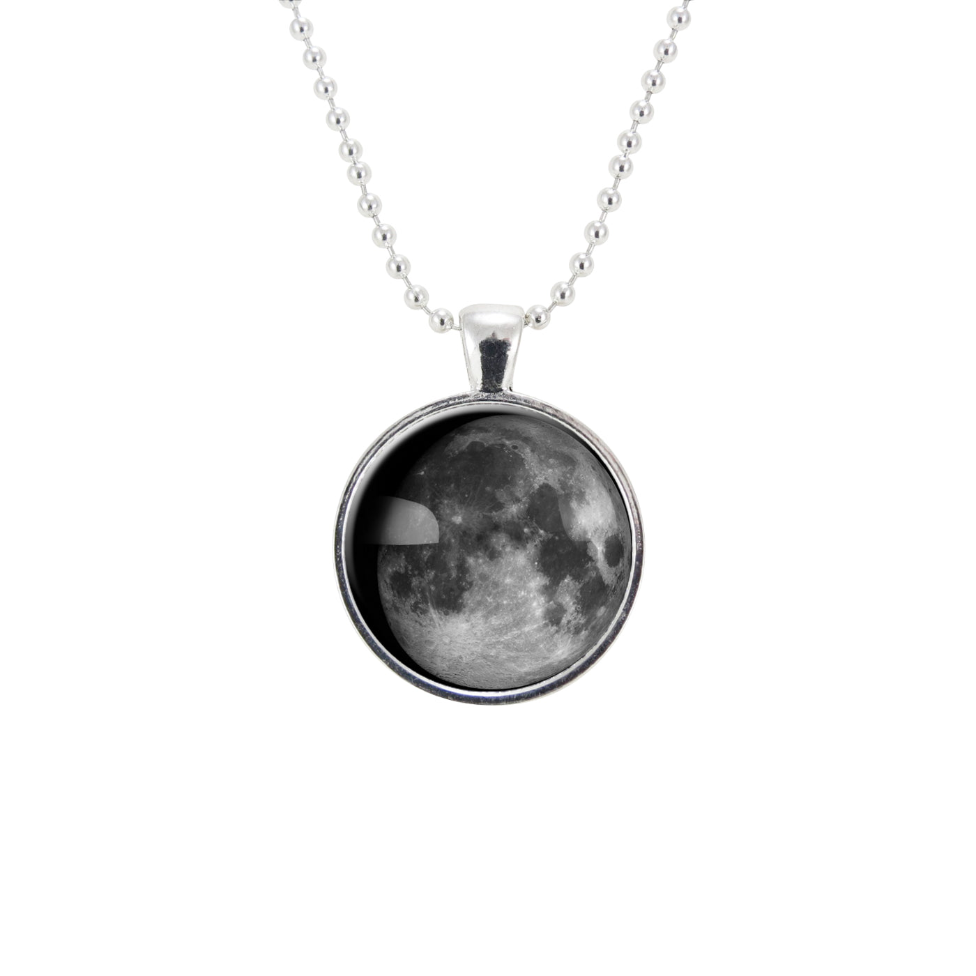 custom necklace personalized special customized birth pendant products date jewelry phases moon