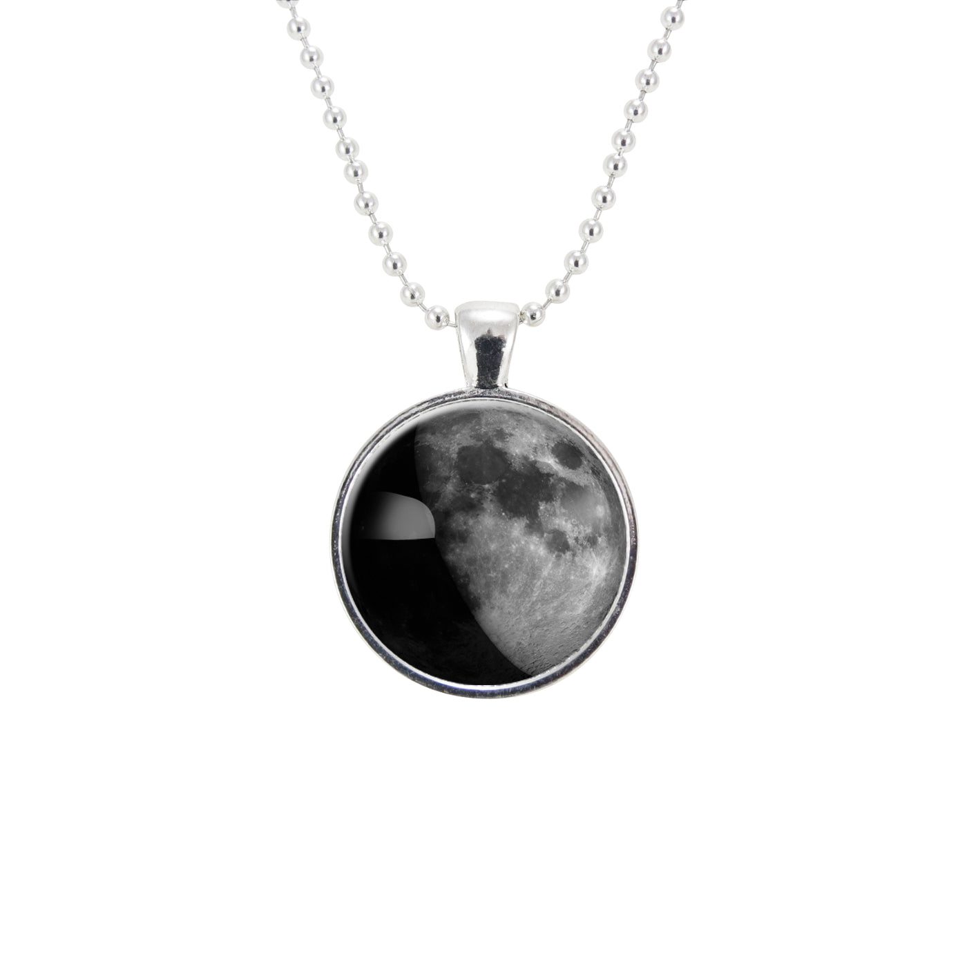 moon pendant birth jewelry custom date customized phases personalized necklace special products