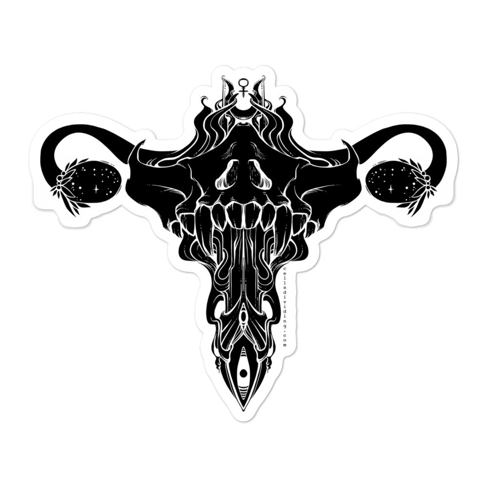 Death Metal Uterus, Sticker