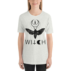 Moth Witch Unisex T-Shirt, White