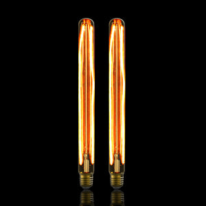 Vintage LED Filament Bulb Tube Shape T300 6W E27