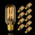Vintage Carbon Filament Bulb Tube Shape T45 25W E27