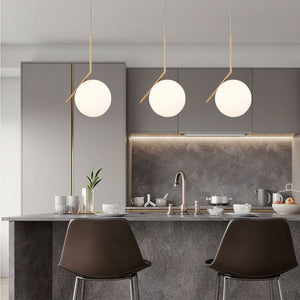 ROSEE 1-Light Simplicity Pendant Light Golden E27 - 7Pandas Lighting Store Australia