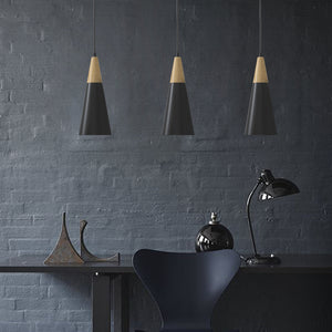 NICO 1-Light Modern Pendant Light Black E27 - 7Pandas Lighting Store Australia