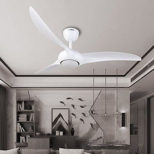 SAN DIEGO 132cm / 52 inch 3 Blade DC Modern Ceiling Fan in White - 7Pandas Lighting Store Australia