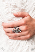 Load image into Gallery viewer, Paparazzi Ring ~ Musical Motif - Silver