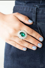 Load image into Gallery viewer, Paparazzi Ring ~ Secret Garden Glow - Green